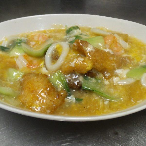 Seafood Chow Fun